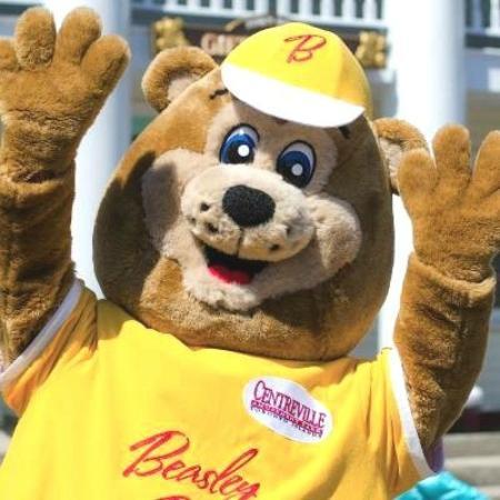 Centreville Amusement Park : Hi Beasley Bear!