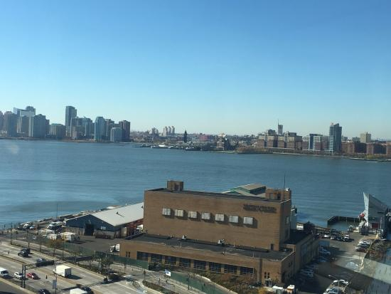 The Standard, High Line: View from our room