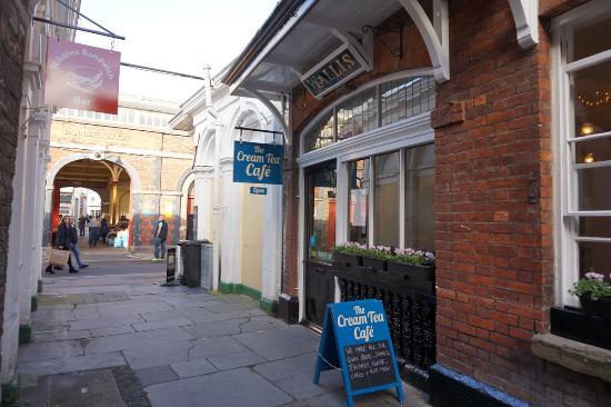 Image result for cream tea cafe barnstaple