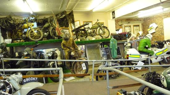 London Motorcycle Museum: Great Displays