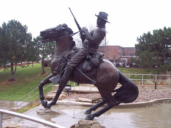 Fort Leavenworth, KS: Buffalo Soldier Monument