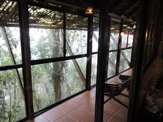 Bellavista Cloud Forest Reserve Bamboo House Screened Porch Relax And Watch The Birds From