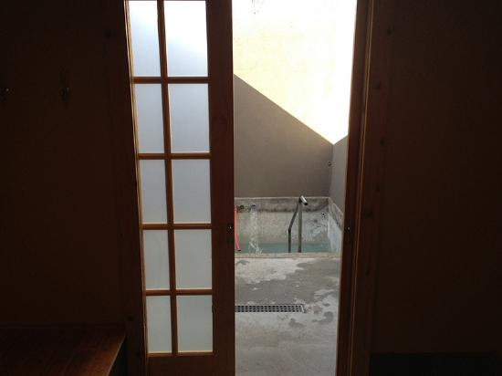 Buhl, ID: View of the VIP pool from the changing room