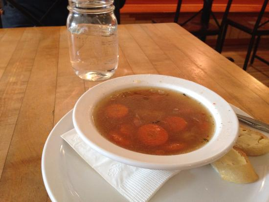 Viroqua, WI: Pork and vegetable soup