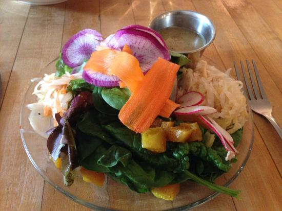 Viroqua, WI: Beautiful salad.