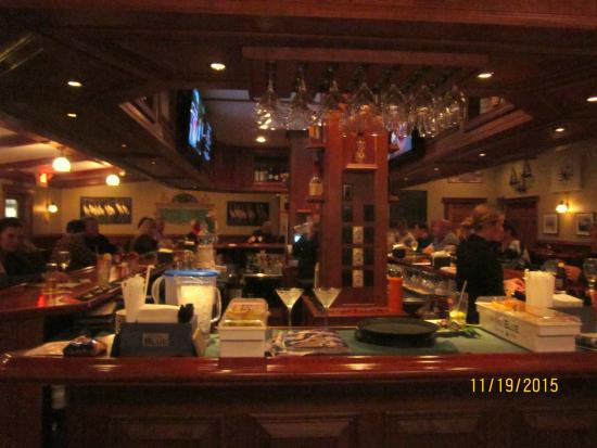 Oyster Bay Steak And Seafood Restaurant Bar Beautiful Well Stocked