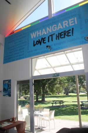 Whangarei, New Zealand: Park at the back