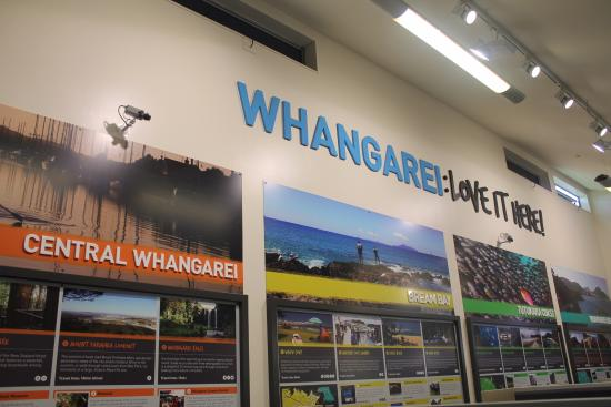 Whangarei, New Zealand: Information boards
