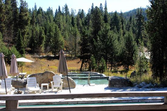 Donnelly, ID: pool view