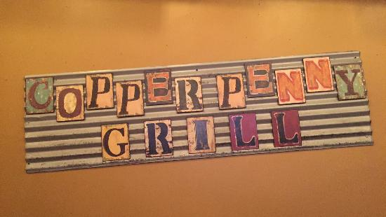 Copper Penny Grill