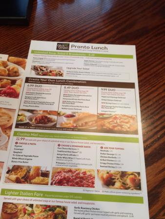 Does Olive Garden Have Lunch Menu On Weekends Best Idea Garden 2018