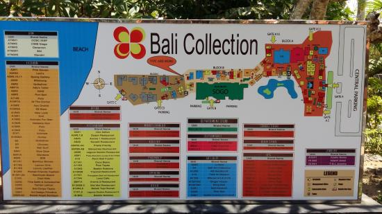 Bali Collection: Layout
