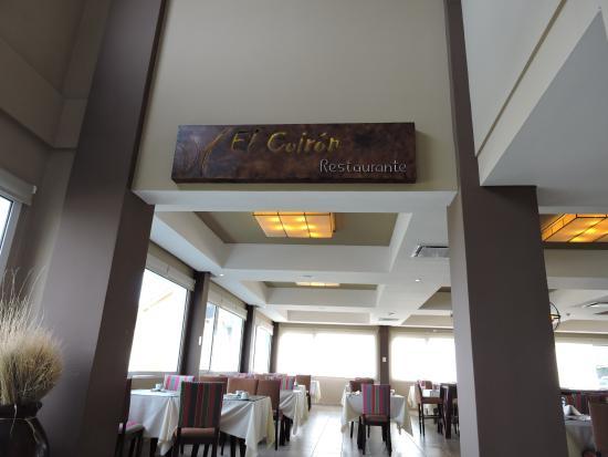 Las Dunas: Restaurante El coirón