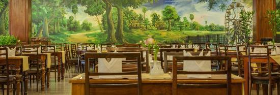 โรงแรมอังกอร์พาราไดซ์: Palm Restaurant