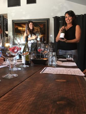 Cypher Winery: Blind tasting competition, we won yeah
