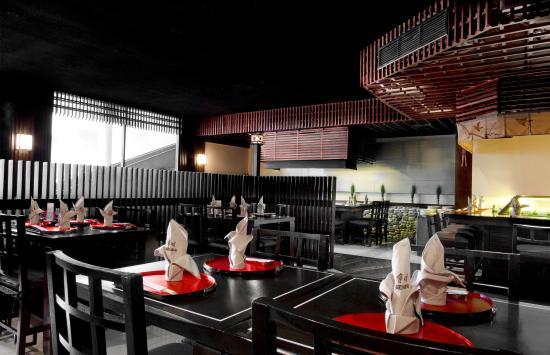 Le Meridien Phuket Beach Resort: Ariake Japanese Restaurant