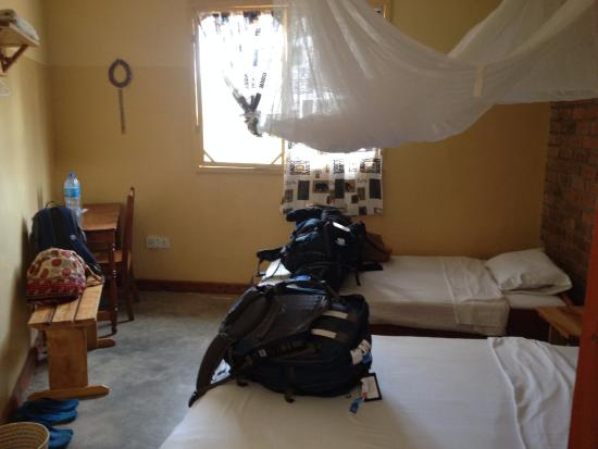 Tembo Guesthouse : Double rooms, all equipped with nets (single rooms available)
