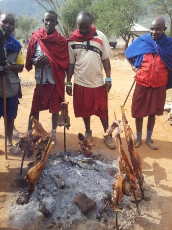 Tembo Guesthouse: Maasai market