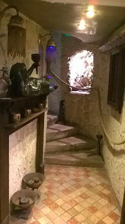 Hotel Camelia Nation: corridoio accesso sala colazioni