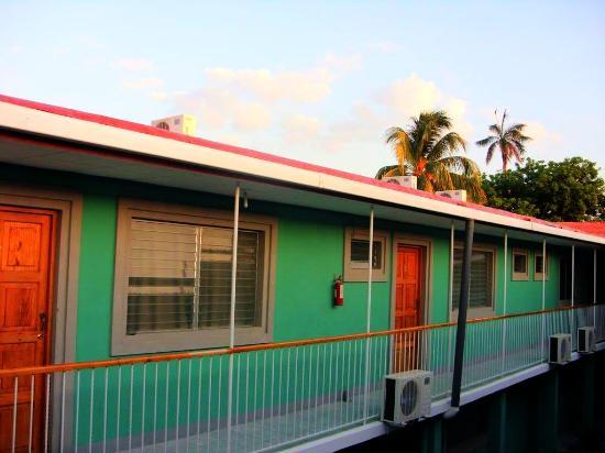 Hotel Jerico: Atardecer en el hospedaje