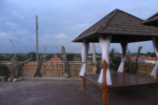 Gazebo On Rooftop Picture Of Buana Bali Luxury Villas Spa Jimbaran Tripadvisor