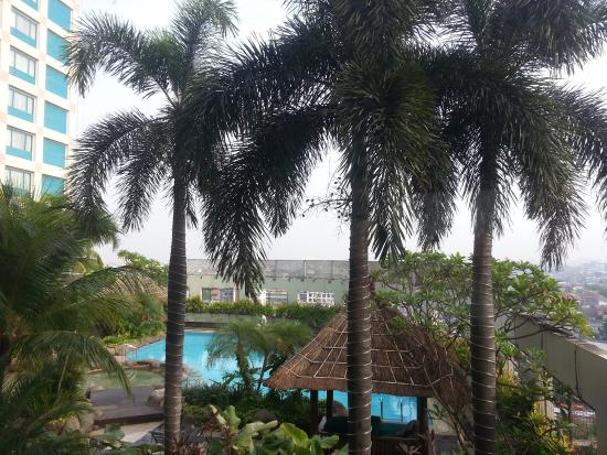 Hotel Ciputra Jakarta: My room view!