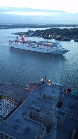 Hilton New Orleans Riverside: view