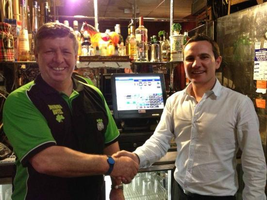 Boorowa, Australia: Mike and Daniel of Dess POS
