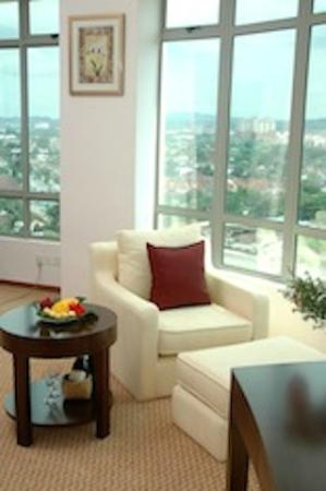 Oriental Crystal Hotel: Executive suite