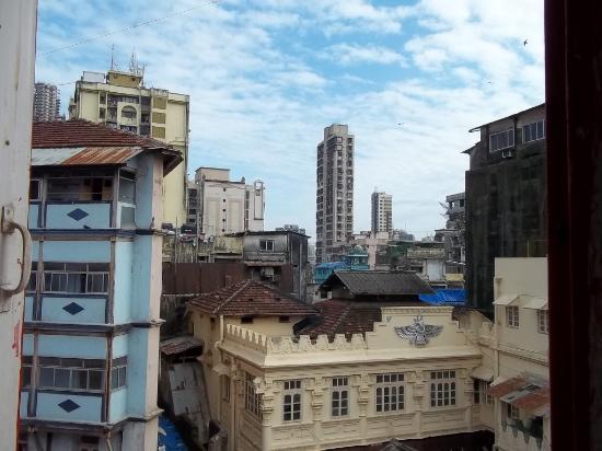 Hotel Anukool: view from window