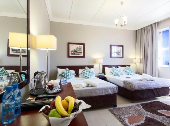 Albany Hotel: Quad Room