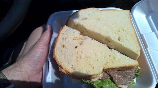 Sultan, WA: Roast Beef Sandwich