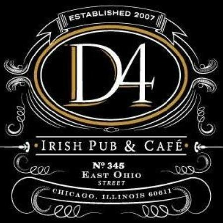 Interior picture of d4 irish pub cafe chicago for Reservation d4hotel