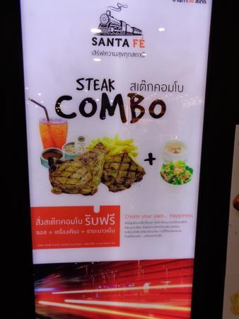 Santa Fe' Steak