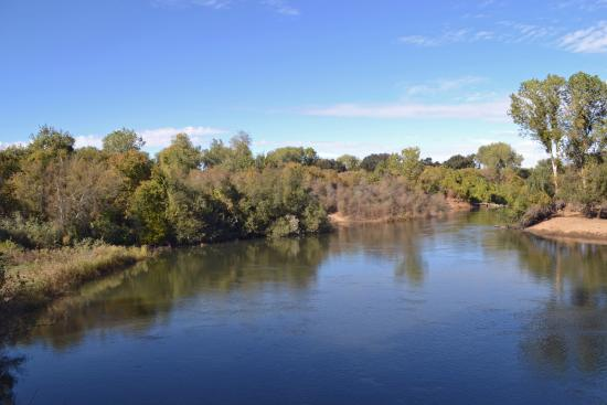 Caswell Memorial State Park: The Stanislaus River flows through the park