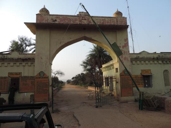 Сариска, Индия: Entry gate