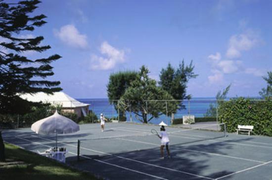 Pompano Beach Club: clay tennis court