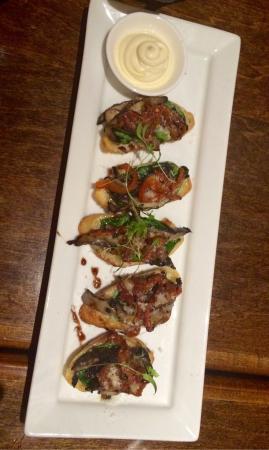Harvest Restaurant: Portobello Mushroom Bruschetta - a must have!!
