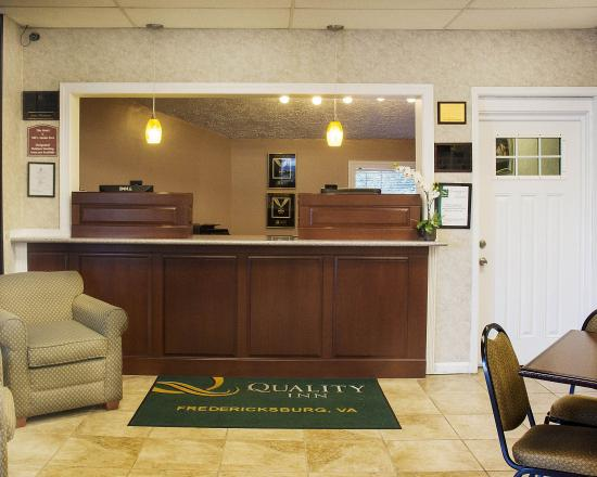 Quality Inn near Historic Downtown: Lobby