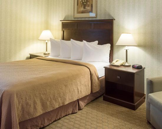 Quality Inn near Historic Downtown : Guest Room