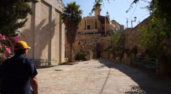 West Bank, Palestinian Territories: Church Ground