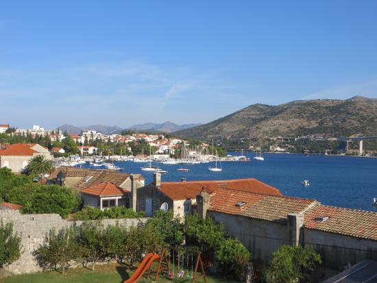 Orka Apartments : Views from the side room