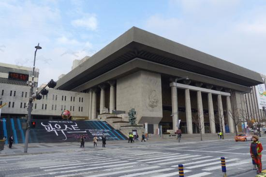 Sejong Center for performing arts  Picture of Sejong Center, Seoul  TripAdvisor