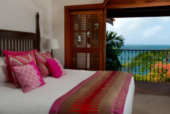 Cap Estate, เซนต์ลูเซีย: Villa Suite (Oceanview )Bedroom