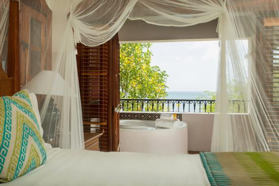 Cap Estate, เซนต์ลูเซีย: Villa Suite With Jacuzzi Bedroom