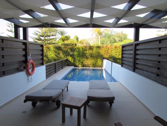 private pool junior suite picture of tui sensimar oceanis beach spa resort psalidi. Black Bedroom Furniture Sets. Home Design Ideas