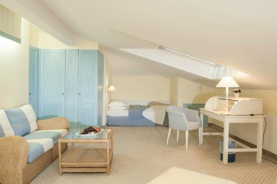 Maisonette Suite - 2. Schlafzimmer - Bild von Grand Hotel ...