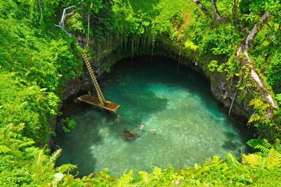 The Amazing To Sua Ocean Trench Picture of SaMoana Beach