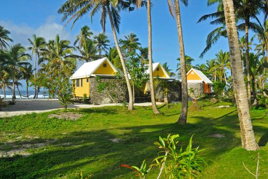 Frangipani Bungalows Picture of SaMoana Beach Bungalows Salamumu
