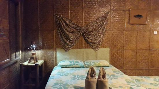 Frendz Resort Boracay: The Double Bed provided in the room